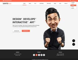#7 cho Design a Mockup for Personal website bởi SantoJames