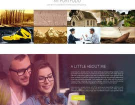 #14 cho Design a Mockup for Personal website bởi Skitters