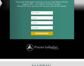 #9 for Design a Landing Page for Matrixx Event by maximkotut