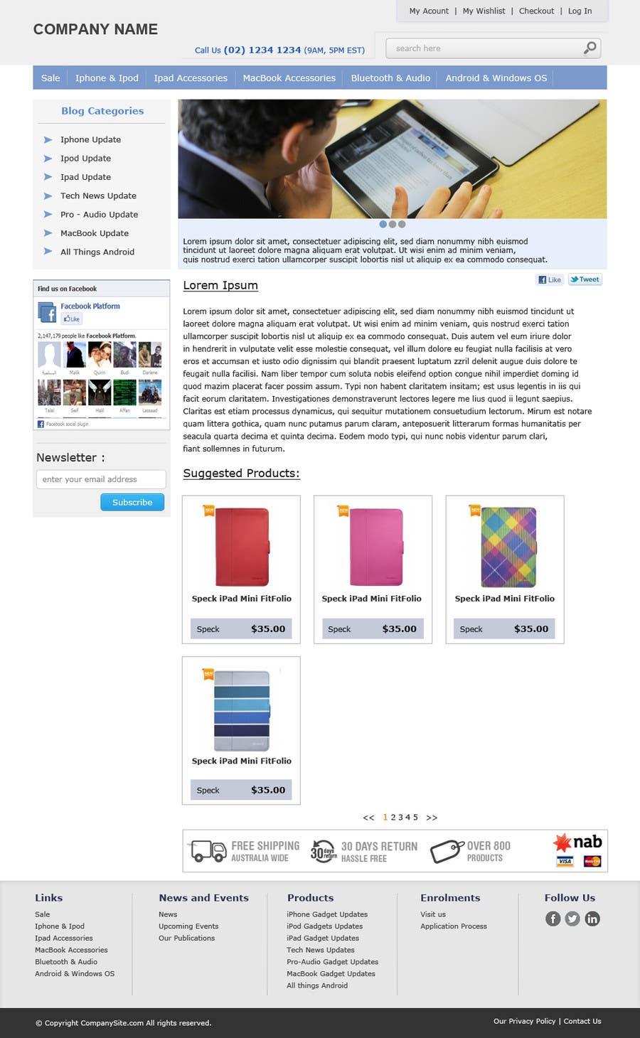 Bài tham dự cuộc thi #                                        13                                      cho                                         Single page design for webpage