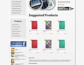 nº 14 pour Single page design for webpage par developer2809