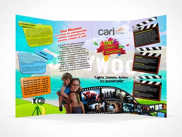 #22 untuk Design a Fun Daycamp brochure themed around 'SHOWTIME' oleh msdvenkat