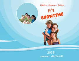 #42 for Design a Fun Daycamp brochure themed around 'SHOWTIME' by blubon