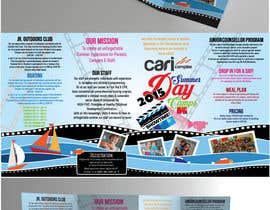 #18 untuk Design a Fun Daycamp brochure themed around 'SHOWTIME' oleh AalianShaz
