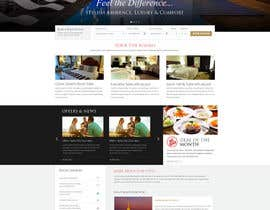 #6 cho Design a Website Mockup for Hotel bởi creativeglance07