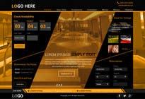 Graphic Design Konkurrenceindlæg #16 for Design a Website Mockup for Hotel
