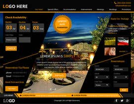 #41 cho Design a Website Mockup for Hotel bởi xsasdesign