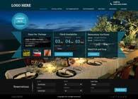 Graphic Design Konkurrenceindlæg #42 for Design a Website Mockup for Hotel