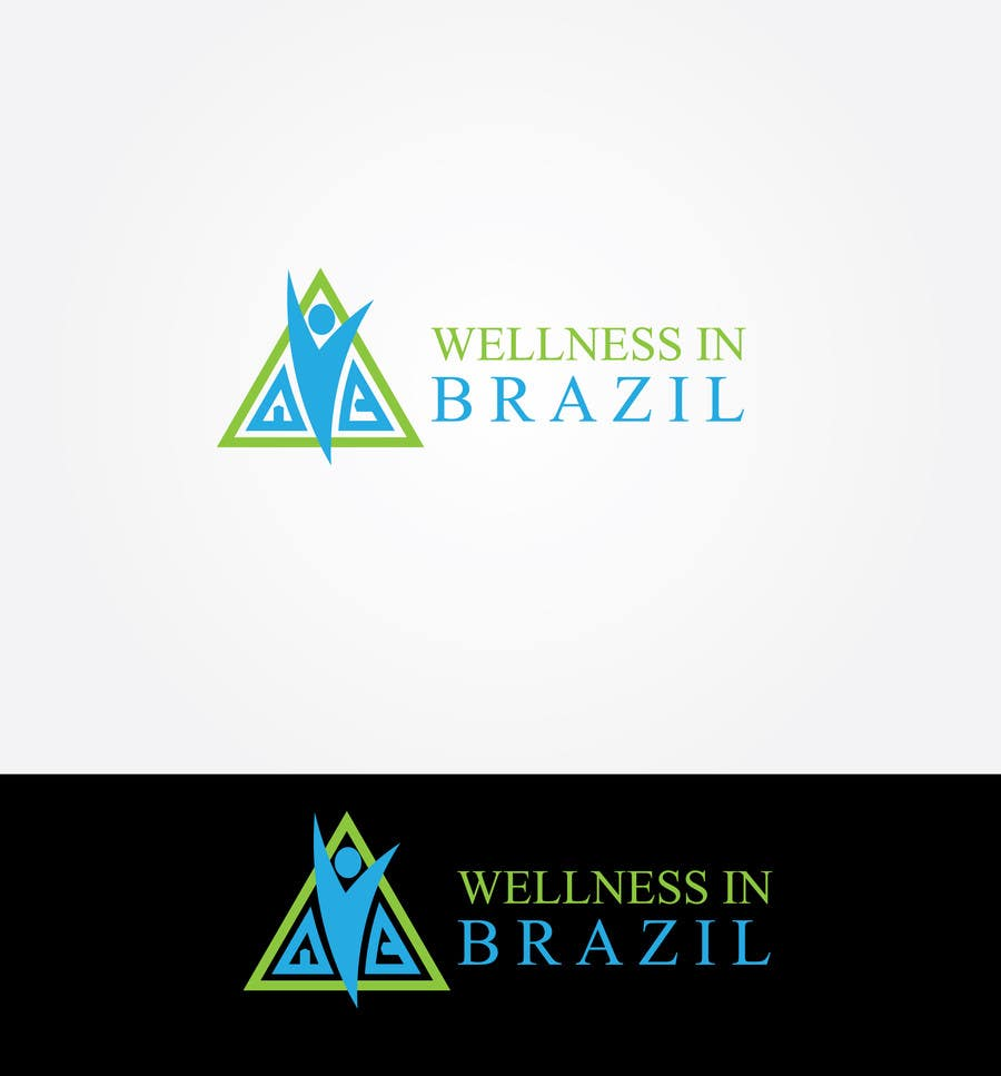 Penyertaan Peraduan #40 untuk Projetar um Logo for WellnessinBrazil