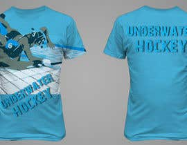 #14 para Do a t-shirt for Underwater Hockey por rogeriolmarcos