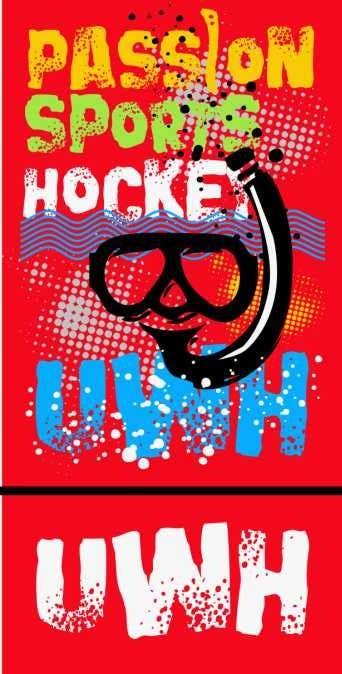 Kilpailutyö #38 kilpailussa Do a t-shirt for Underwater Hockey