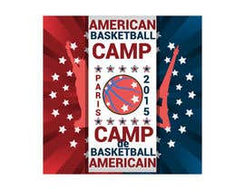 #3 for Design a Logo for Basketball Camp in Paris, France -- 2 af AdrianCuc