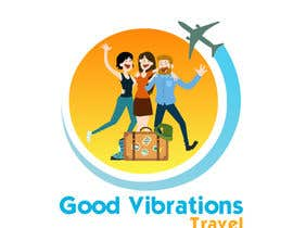 #37 para Good Vibrations Travel Logo por Isabel19