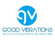 Graphic Design Konkurrenceindlæg #21 for Good Vibrations Travel Logo