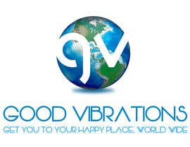 #32 para Good Vibrations Travel Logo por dpeter