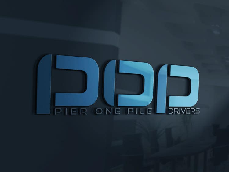 Contest Entry #15 for Design a Logo for Contractor (Pier One Pile Drivers)