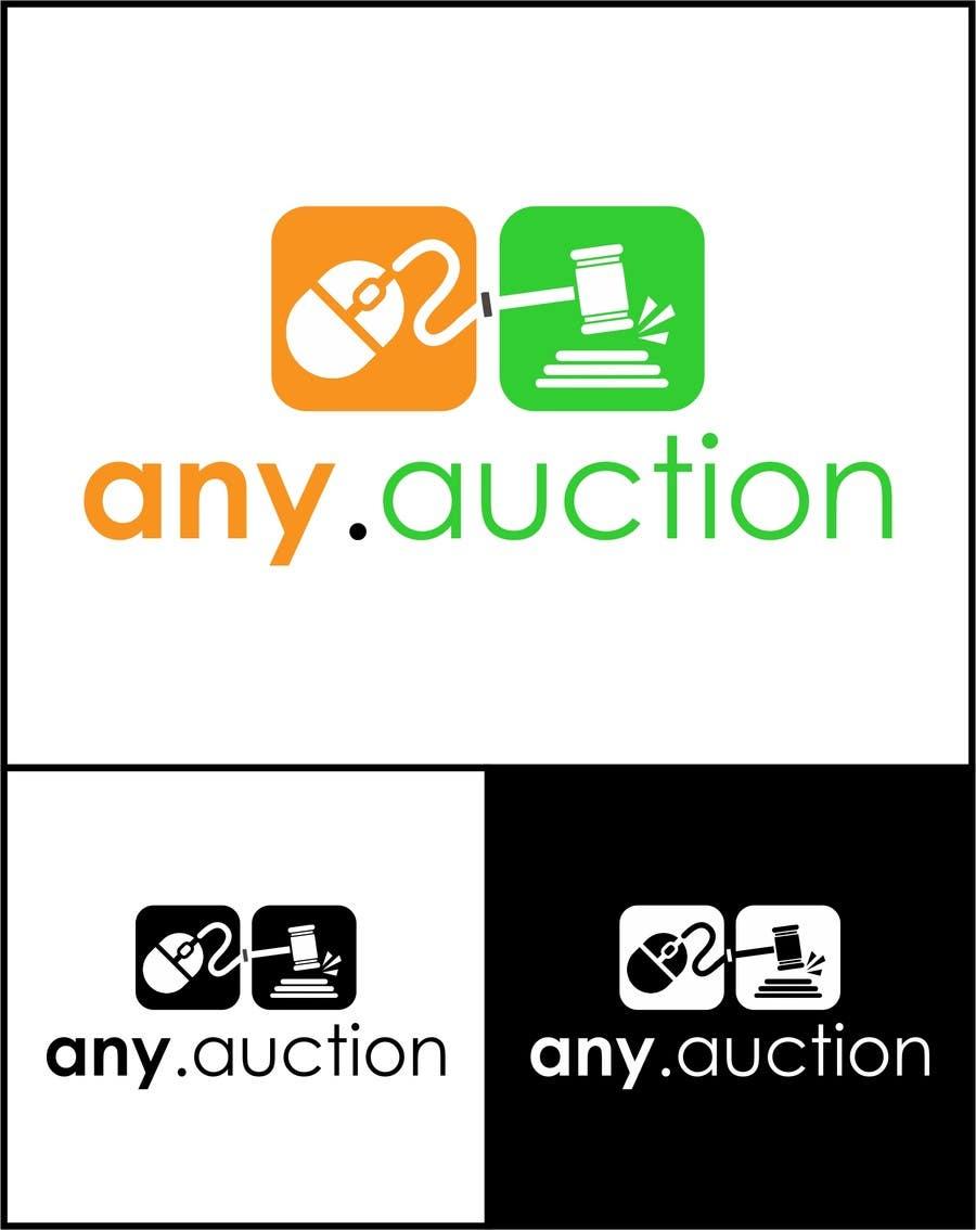 Proposition n°                                        60                                      du concours                                         Design a logo for an online auction website