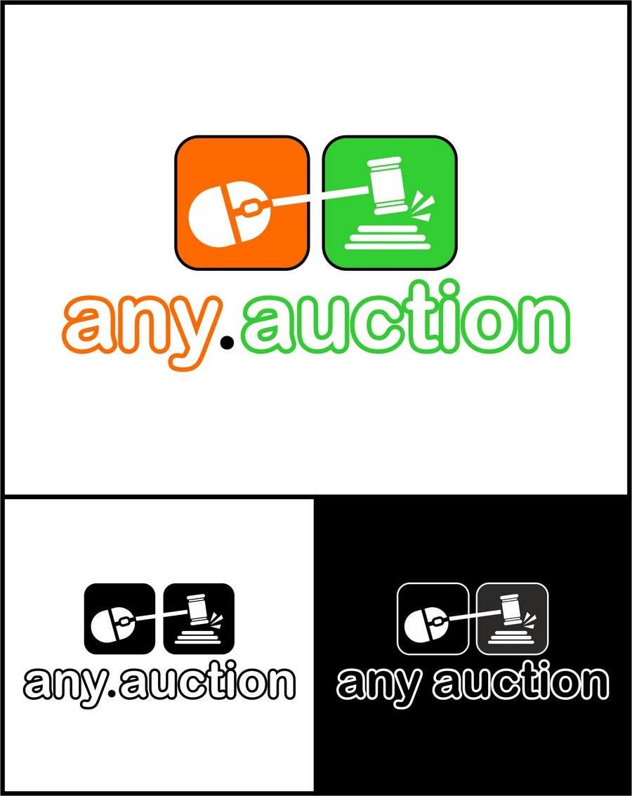 Proposition n°                                        77                                      du concours                                         Design a logo for an online auction website