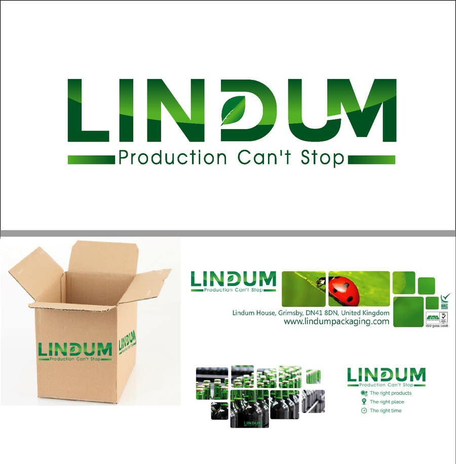 Konkurrenceindlæg #140 for Come up with a new brand image for Lindum Packaging