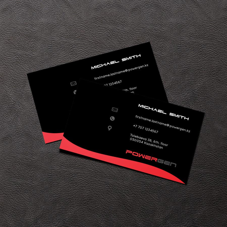 Contest Entry #44 for Design Business Card and some Stationery for PowerGen