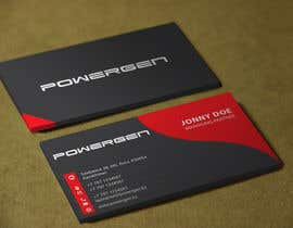 #41 untuk Design Business Card and some Stationery for PowerGen oleh sixthsensebd