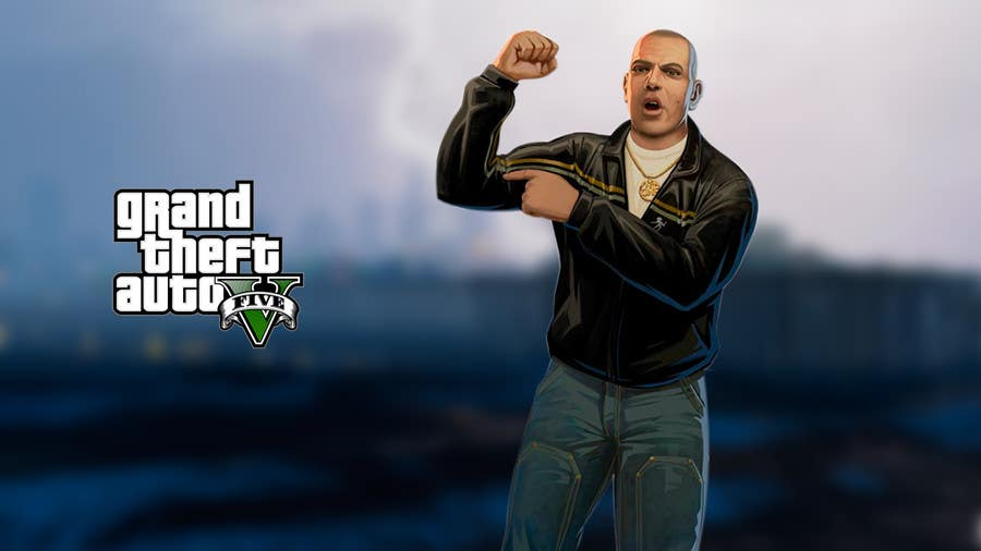"""Contest Entry #                                        9                                      for                                         Illustrate a provided character in """"Grand Theft Auto V""""  poster style."""