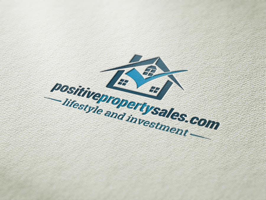 Konkurrenceindlæg #                                        84                                      for                                         Design a Logo for Positive Property Sales (positivepropertysales.com)