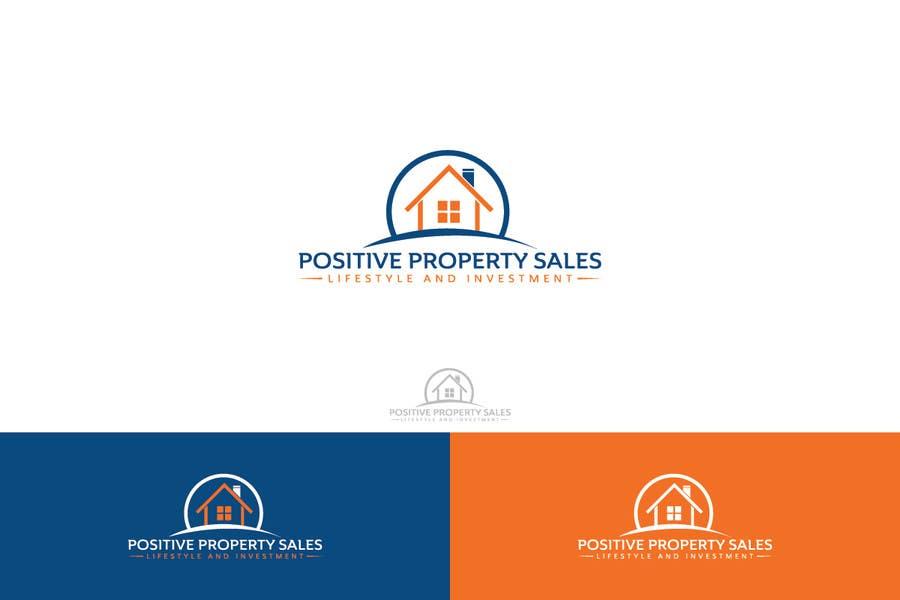 Proposition n°                                        9                                      du concours                                         Design a Logo for Positive Property Sales (positivepropertysales.com)