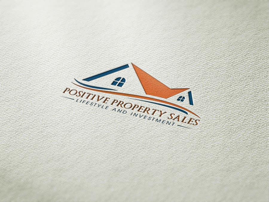Proposition n°                                        45                                      du concours                                         Design a Logo for Positive Property Sales (positivepropertysales.com)