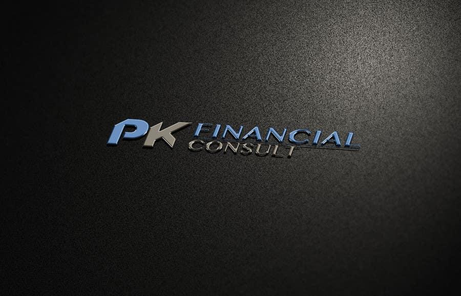 "Bài tham dự cuộc thi #130 cho Design Logo and Business Cards for ""PK Financial Consult"""