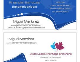 nº 24 pour Design some Business Cards for Panamerican Loans par alidicera