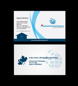 #32 for Design some Business Cards for Panamerican Loans by paxslg