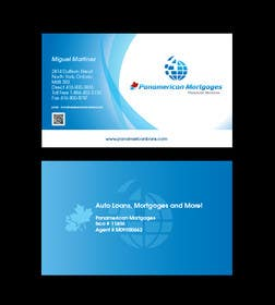 #57 untuk Design some Business Cards for Panamerican Loans oleh paxslg