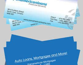 #23 untuk Design some Business Cards for Panamerican Loans oleh hatimprinting52