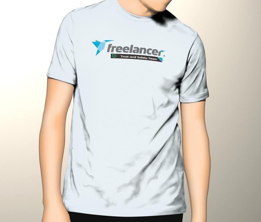 Konkurrenceindlæg #                                        28                                      for                                         Design a T-Shirt for Freelancer.com's Trust and Safety Team
