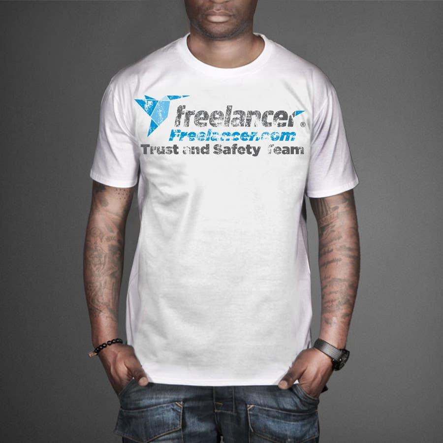 Konkurrenceindlæg #                                        54                                      for                                         Design a T-Shirt for Freelancer.com's Trust and Safety Team