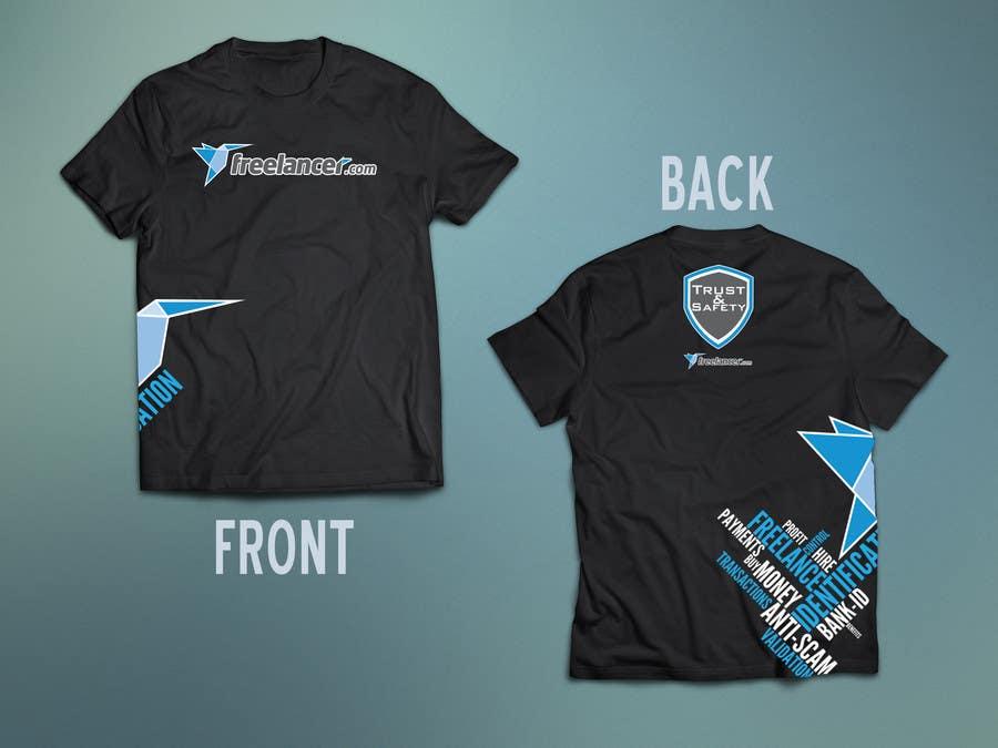 Konkurrenceindlæg #                                        63                                      for                                         Design a T-Shirt for Freelancer.com's Trust and Safety Team