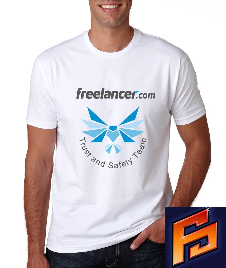 Konkurrenceindlæg #                                        14                                      for                                         Design a T-Shirt for Freelancer.com's Trust and Safety Team