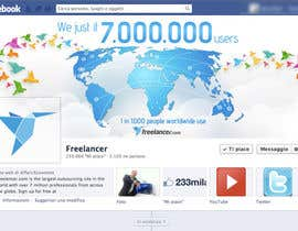 nº 15 pour Design a Banner for Freelancer.com's Facebook Page! par holecreative