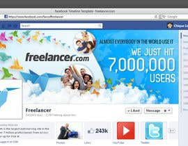 #187 cho Design a Banner for Freelancer.com's Facebook Page! bởi chiqueylim