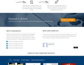 ZWebcreater tarafından Design a Website Mockup for Irish Media Agency için no 18