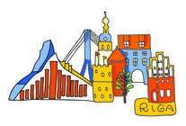 Graphic Design Contest Entry #4 for City panorama cartoon illustration