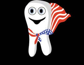 #5 for Tooth with American flag af melissaRuss