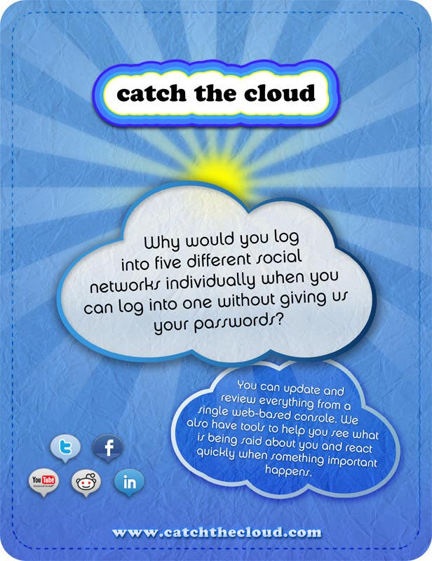 #57 for Full-Page Advertisement Design for Social Networking Website by chico6921