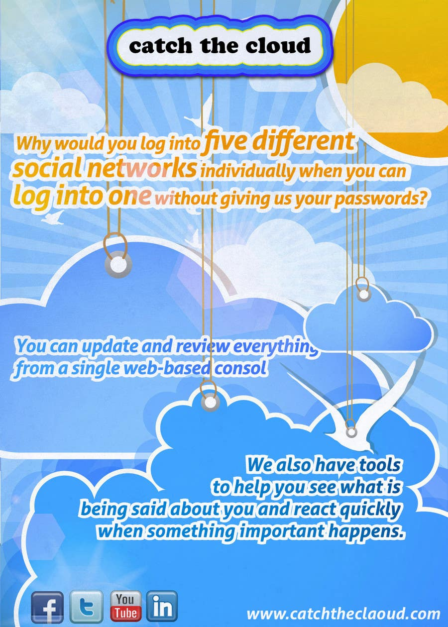 #66 for Full-Page Advertisement Design for Social Networking Website by Macario88