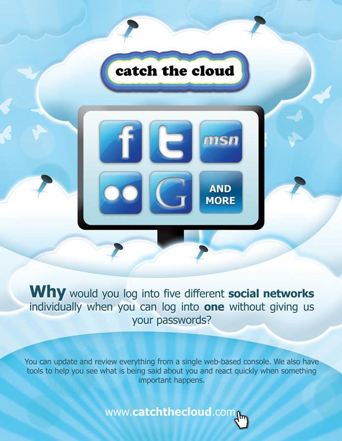 Konkurrenceindlæg #                                        45                                      for                                         Full-Page Advertisement Design for Social Networking Website