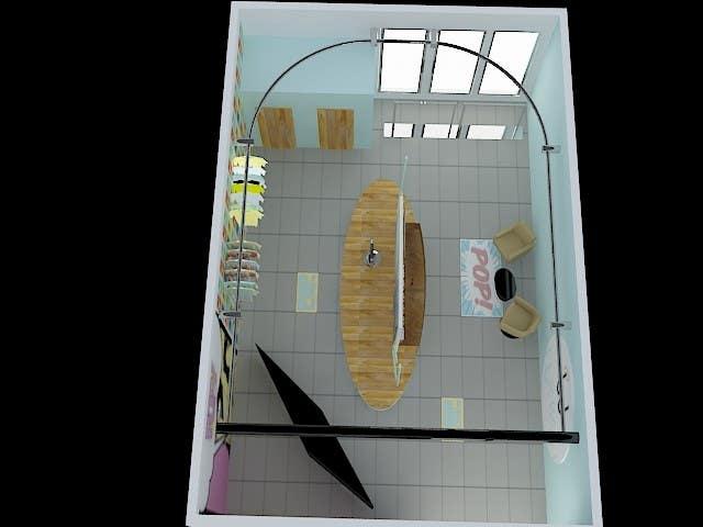 Konkurrenceindlæg #                                        37                                      for                                         Pop-Culture Fashion Shop interior design
