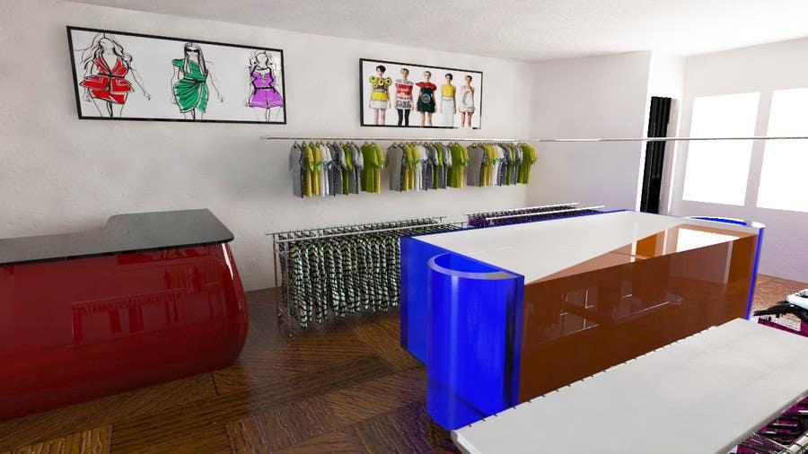 Konkurrenceindlæg #                                        17                                      for                                         Pop-Culture Fashion Shop interior design