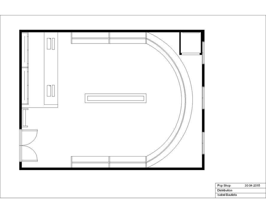 Konkurrenceindlæg #                                        3                                      for                                         Pop-Culture Fashion Shop interior design