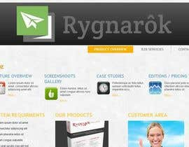 #2 para Design for Rygnarôk website relaunch por eshasem